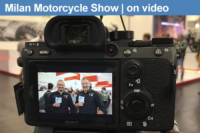 All the videos from the EICMA Milan Motorcycle Show 2018