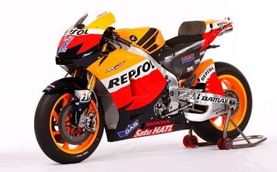 Honda's current RC213V MotoGP bike