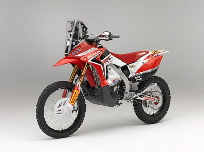 Honda back in the Dakar with this new 450 Rallye