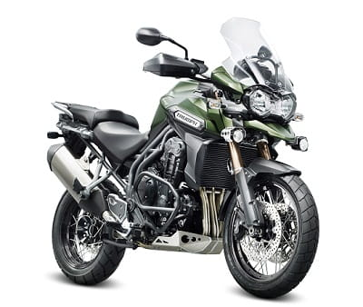 New Triumph Explorer 1200XC