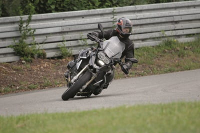 BMW R1200GS cranked over!