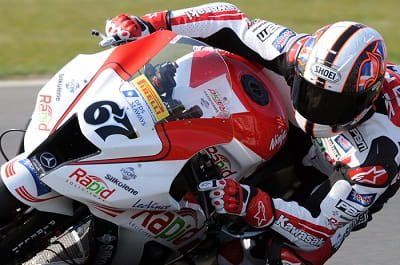 Shakey on his way to his third BSB title on Sunday