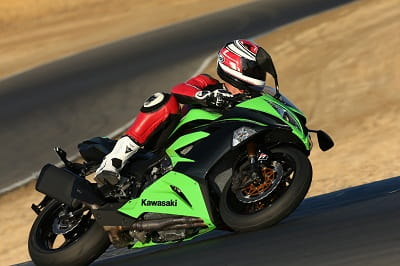 ZX-6R is one of the quickest steering bikes ever