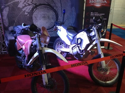 James Bond Honda CRF250Rs at Dirt Bike Show