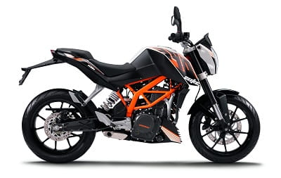 KTM's new 390 Duke for 2013