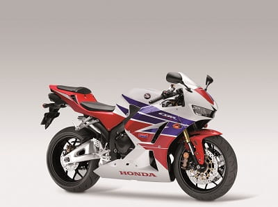 Honda CBR600RR in 2013-spec red, white and blue
