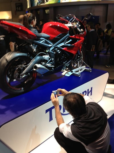 Ducati Technical Chief Andrea Forni gets up close and personal to new Daytona 675