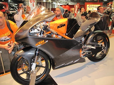 KTM's RC250R was revealed at the Milan Show