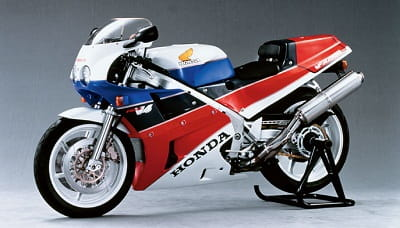 Honda VFR750R RC30 like the one May bought. Who wouldn't want one of these in their garage?