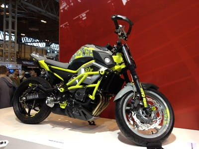 Yamaha XJ6 stunt bike prototype. Parts could be made available for sale soon according to our source
