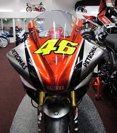 That famous number 46 on Tamworth Yamaha's R1