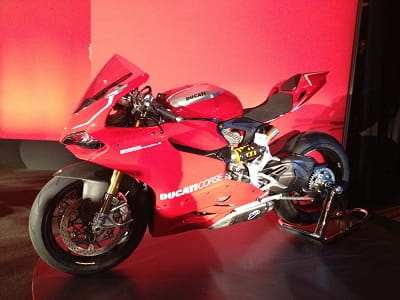 Ducati 1199R, one of the first bikes to be launched under Audi's ownership