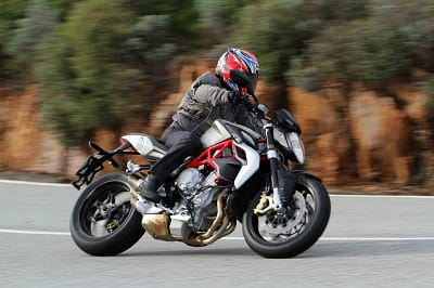 MV Agusta's 800 Brutale on test in France