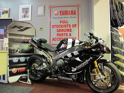 £75,000 Yamaha R1 Special welcomes customers at Tamworth Yamaha