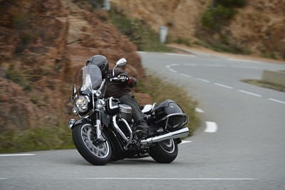 Moto Guzzi's California 1400 on test. This is the Touring version.
