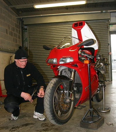 Stop putting off those jobs, get in the garage and sort your bike over winter!