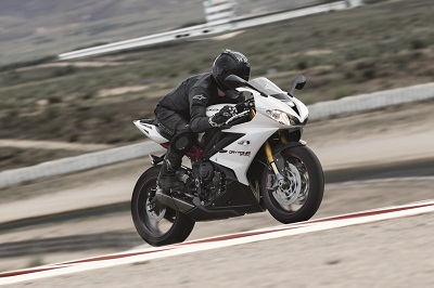 New Triumph Daytona 675R. It revs faster, has more torque and holds onto revs longer between corners. It's a weapon.