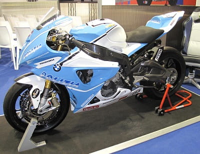 BMW S1000RR police bike. Gulp.
