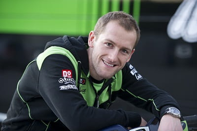 Tom Sykes, happy, with the same team and ready to fight ever harder in 2013