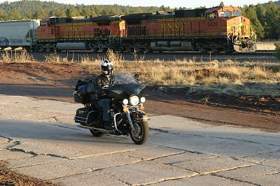 Route 66, every biker's dream? Ash did it this year