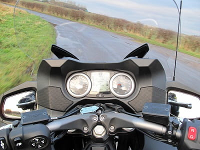 Don't be frightened by the millions of displays and buttons, it's really simple to use when riding