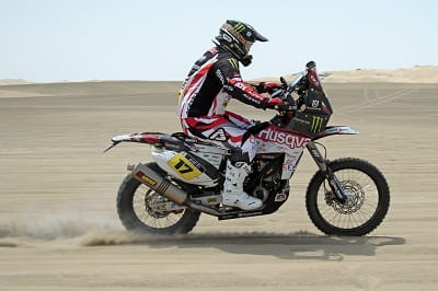 Husqvarna is having a great start to the Dakar, but there's still a very long way to go
