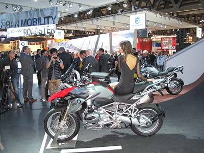 Catch the new BMW R1200GS at the MCN London Motorcycle Show