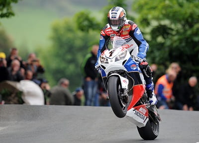John McGuinness on his Superbike in 2012. He's the man to watch again in 2013.