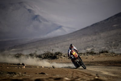 French Dakar master Cyril Despres showing how its done