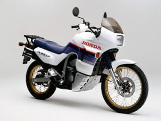 1987 Honda XLV600 Transalp may not have quite the Dakar style required but it's still a good bike