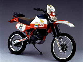 1982 Honda XR500R Dakar bike as raced by Cyril Noveau