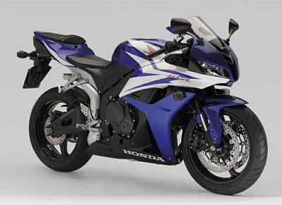 2007 Honda CBR600 was lightest (claimed) so far