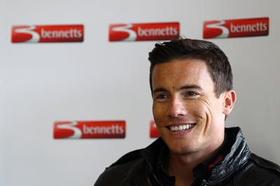 James Toseland - there's not much he doesn't know about riding bikes, or teeth whitening.
