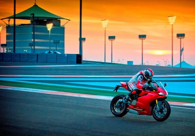 Bring your clear visor as the Ducati Riding Experience will include floodlit riding sessions!