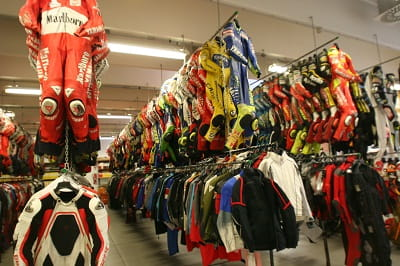 Dainese's 'secret' store room. If you ever get the chance make sure you get them to let you in.