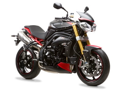 Triumph's Speed Triple R 'Dark'. Only 30 will be made.