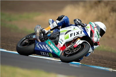 Camier topped the times at the WSB test!