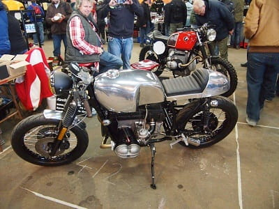 Cafe Racer BMW showed the diversity of 'classic bikes' at the Bristol Classic Motorcycle Show