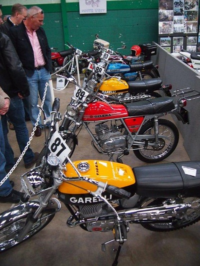 Stunning Garelli moped leads the charge of the super priced Mopeds and drew big crowds