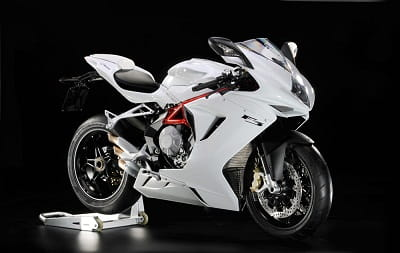 MV Agusta's 675 F3 will be seen ridden in anger at the Isle of Man this year with Gary Johnson!