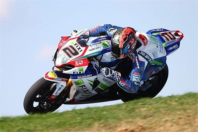 Camier showed his class b finishing top Brit and third overall at this week's Phillip Island WSB tests
