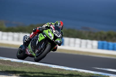 Sykes continued good form with fourth fastest overall in the Phillip Island WSB tests