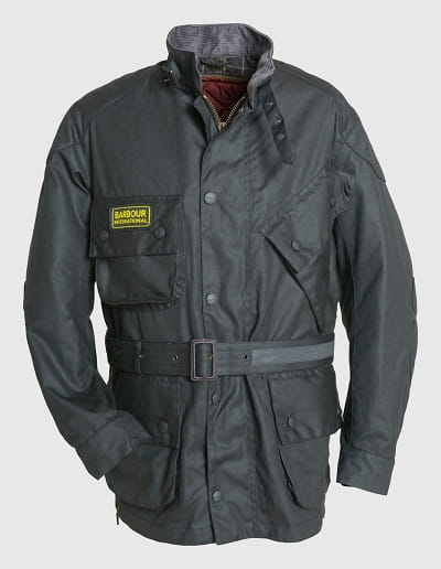 The new Barbour International jacket