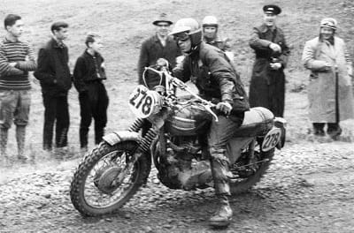 McQueen muscles around the Triumph Trophy on the ISDT, you don't have to do that to wear this jacket.