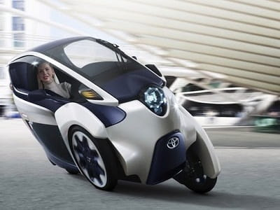 Toyota's iRoad concept. I'd Rather not myself, but that's just my opinion!