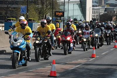 Sheffield Easter Egg Run last year, let's hope the weather is this kind to us on Sunday!