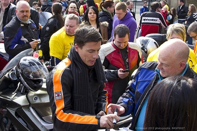 Toseland at the Easter Egg Run in Sheffield last year. Come and say hello to JT, pick up a Bennetts goodie bag, and meet the Bennetts babes!