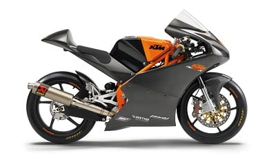 KTM's £36,000 RC250R. A 390 version with the same styling and attitude is on the way!