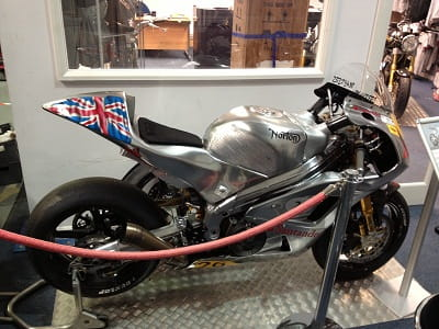 Norton's SG1 which qualified for the Isle of Man Senior TT last year. This year they'll also race the Isle of Man Classic TT on Manx Nortons.