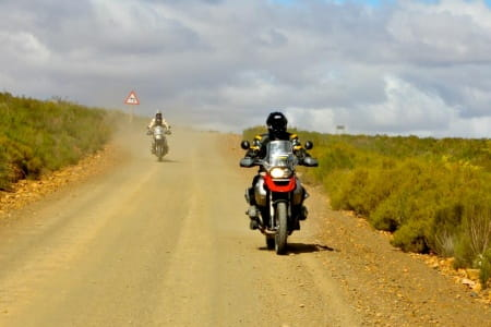 Charley Boorman touring Africa